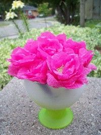 Inspirational monday do it yourself diy flower series diy practice crepe paper flower by me mightylinksfo