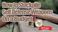 Do you have a good stockpile of weapons? If not, you can start building up an arsenal now and it doesn't have to empty your wallet! Need more #guns? Learn how to get #weapons and #ammo on a budget at #Prepping #Preppers #MsPrepper