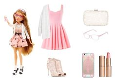 A fashion look from August 2015 featuring Violeta by Mango cardigans, Dolce&Gabbana ankle booties and Accessorize clutches. Browse and shop related looks. Themed Outfits, Girly Outfits, Cute Outfits, Project Mc2 Toys, Project Mc Square, Diy For Girls, School Fashion, Fashion Models, Fashion Looks