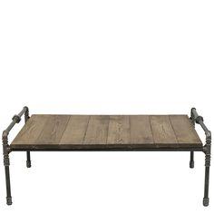 Steel pipe coffee table Gie El