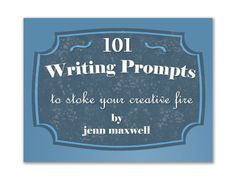 101 Writing Prompts is now for sale! Use the code LAUNCH to get 50% off the price.