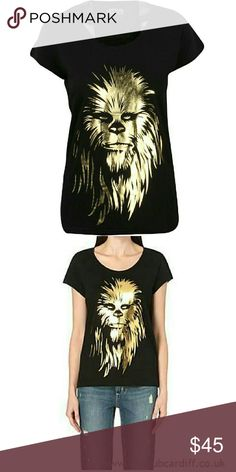 Eleven Paris Star Wars Chewbacca Tee Very Rare! Only have 1 left!! ✨   NWT- I bought this directly through Eleven Paris. 100% Authentic with tags. Never been worn or tried on! Interested in more than one item? Contact me about bundling!  100% Cotton Eleven Paris Tops Tees - Short Sleeve