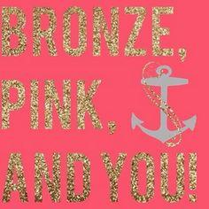 "DG's ""Bronze, Pink, and YOU"" health bad wellness program"