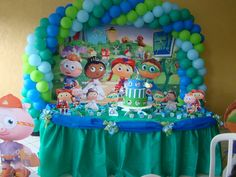 super+why+birthday+party | Festa do Super Why!