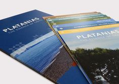 Folder design for municipality of Platanias in Chania