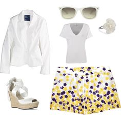 White Party, created by lauramayes on Polyvore