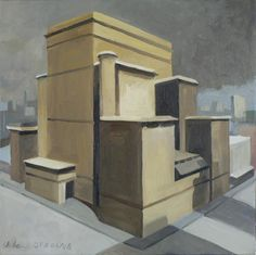 Chicago. 2006-2008. 40x40cm. Oil on canvas