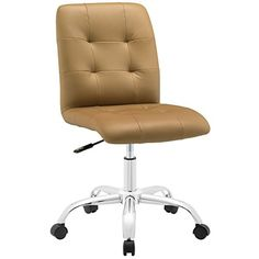 Prim Mid Back Office Chair in Tan LexMod http://www.amazon.com/dp/B00RXUJ66O/ref=cm_sw_r_pi_dp_pflTub1JAA3VH