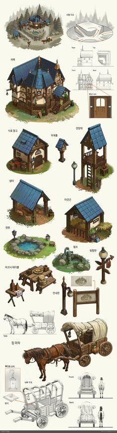 Money Tutorial and Ideas Fantasy House, Fantasy Map, Fantasy World, Minecraft Plans, Minecraft Designs, Minecraft Architecture, Minecraft Buildings, Environment Concept, Environment Design