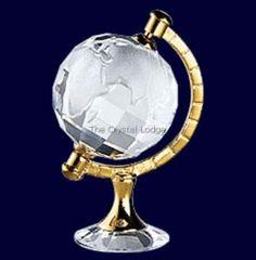 Swarovski SWAROVSKI CRYSTAL MEMORIES - GLOBE GOLD 199455 | Swarovski Crystal