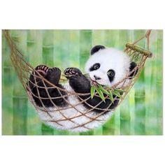 4.7AUD - Hot Diy 5D Diamond Embroidery Painting Cross Stitch Kit Animal Home (Panda) N4T5 #ebay #Home & Garden