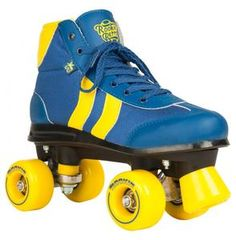 Rookie Retro Roller Skates Skate the night away in your very own pair of disco vintage roller skates. Just laying eyes on these beautiful skates is enough to leave you itching to hit that wooden floor and cruise around the rink to your favorite hits from the 70's. I've been told roller skates are making a comeback!
