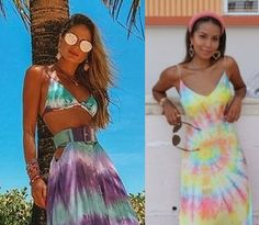 8 Looks inspiração com tie dye! Aprenda a usar a tendência do momento!,  Julie Sariñana, Thássia Naves, vestido tie dye, biquini tie dye, saia tie dye, moda feminina, tendências de moda, roupas fashion, looks femininos, looks verão 2020 2021, tie dye verde e roxo, looks primavera, looks coloridos, tie dye colorido, tendência moda praia 2021 2020, #tiedye #modafeminina #looksinspiração #lookscomtiedye #thassianaves #juliesariñana #blogueirasdemoda #looksestilosos #lookscoloridos #biquini