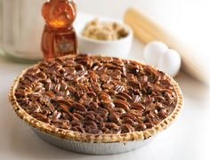 Sue Bee Honey Pecan Pie #PecanPieDay