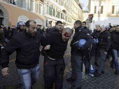 Hooligans a Roma, gli scontri sui siti olandesi e italiani - Yahoo Notizie Italia