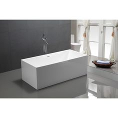 Modern Freestanding Bathtub - A Collection by Anglina - Favorave