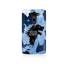 House Stark Winter Is Coming Map Cover LG G3 Case, LGG3 cover