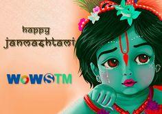 !!..Celebrate Krishna Janmashtami..!! May this auspicious day brings joy and happiness in your life. #celebration, #lordkrishna, #wishes, #kanhagopal, #specialday