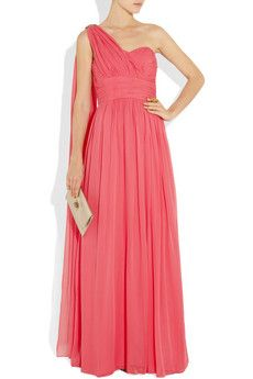 Notte by Marchesa silk-chiffon #gown #dress