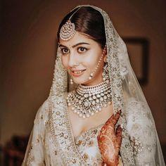 Indian Bridal Fashion, Indian Wedding Jewelry, Bridal Jewelry, Pink Bridal Lehenga, Asian Inspired Wedding, Bride Look, Wedding Set, Wedding Season, Wedding Hair