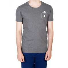 T-shirt Fausse Poche Gris - Bold Boys #clothes #menswear