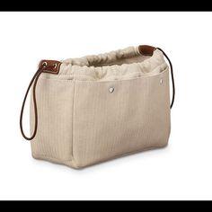 Hermes Fourbi insert bag 25 For Birkin, Kelly, and other hermes bags! Hermes Bags Travel Bags