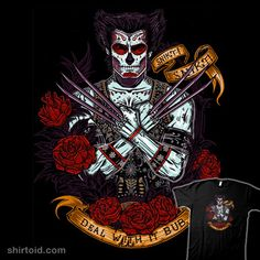 Day of the Dead #Wolverine #DíadelosMuertos