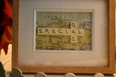 Scrabble Picture by BlueHse on Etsy, £25.00