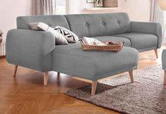 Home affaire Polsterecke »Skagen«, mit edler Steppung im Rücken    #couch #sofa #ecksofa #polsterecke #wohnzimmer #inspo #interior #einrichtung #polstermöbel #möbel #homeaffaire