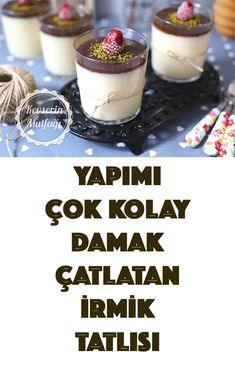 Turkish Kitchen, Healthy Snacks, Cheesecake, Food And Drink, Pudding, Cooking, Sweet, Desserts, Recipes