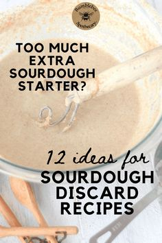 It's common to end up with extra sourodugh starter. Here are lots of great sourdough discard recipes to help you put that extra starter to good use! Sourdough Starter Discard Recipe, Sourdough Recipes, Bread Recipes, Sourdough Pancakes, Healthy Crackers, Amish Friendship Bread, Starter Recipes, Artisan Bread, Baking Ingredients