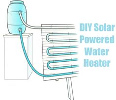 Solar Power Tips. Choosing to go environment friendly by changing over to solar power is probably a positive one. Solar powered energy is now becoming seen as a solution to the worlds power demands. Off The Grid, Renewable Energy, Solar Energy, Sun Solar, Solar Powered Water Heater, Diy Solar Water Heater, Alternative Energie, Off Grid Solar, Solar Projects
