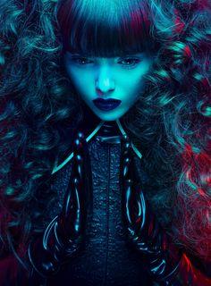 Photographer: David Benoliel  Stylist: Veronica Camacho  Model: Hanna May  Hair/Makeup: Euridice Martin  Designer: Danny Deluxe Latex Design  Studio: Profocus Studio