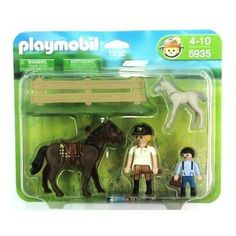 Playmobil 5935 Pony Ranch Horse + Foal Stimulating Imaginative Role Play New | eBay