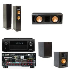 Klipsch RF-82II 5.0 Bundle with Denon AVR-X4000 IN-Command 7.2 Network Home Theater Receiver