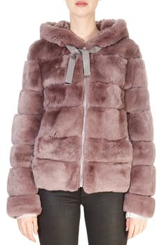 This is the stunning 'Rita' Pink Rex Rabbit Panelled Jacket from our friends at Intuition! SHOP NOW! Sheepskin Coat, Rex Rabbit, Intuition, Taupe, Shop Now, Fur Coat, Clothing, Pink, Jackets