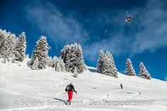 Wenn frischer Schnee gefallen ist, auch für eine schöne Skitour geeignet, da die umliegenden Gebiete meistens Lawinen gefährdet sind. Das Gebiet der Schatzalp oberhalb von Davos in Graubünden - Foto: Mario Hübner