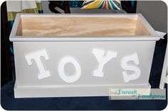 Need to try and be handy!  Who Built a Toy Box??? — The Pursuit of Handyness
