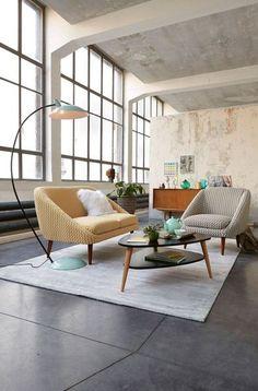 La bonne idée pour relooker un salon : revisiter le style vintage, comme la nouvelle collection La Redoute Intérieurs 2015. La déco, c'est comme la mode : un éternel recommencement...
