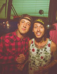 Austin Carlile - Of Mice & Men and Mike Fuentes - Pierce the Veil