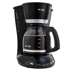 Serve up plenty of hot, fresh coffee with this coffee maker's 12-cup capacity. With the ingenious Delay Brew function you can schedule brewing up to 24 hours in advance.For any further queries please contact Mr. Coffee's Customer Support Number @ 1-800-672-6333.