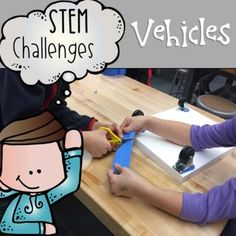Combine thematic units and creative, artistic, outside-the-box thinking in these STEM and STEAM Makerspace activities! They are a great way to incorporate STEM into your core Reading, Math, Science or Social Studies instruction. They come in a variety of sets so that you can differentiate based on your student's needs. This GROWING BUNDLE of STEM resource is all about vehicles. There will be 50 activities in total by the end of July (and more likely sooner); 30 of which are included NOW!