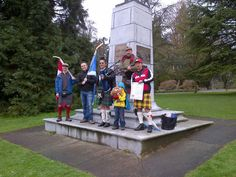Scottish gathering in Stanley Park.