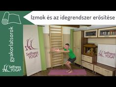 Az izmokat és az idegrendszert erősítő 20 perces jógagyakorlás - jóga gyakorlatok - YouTube Youtube, Room, Furniture, Home Decor, Sport, Bedroom, Homemade Home Decor, Deporte, Sports