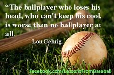 Baseball Quote - Check out our website for expert advice, tips, downloads and more about baseball and other subjects at: http://www.pitching.com/