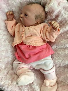 Custom made to order sculpt by Evelina Wosnjuk Baby Dolls For Sale, Life Like Baby Dolls, Life Like Babies, Real Baby Dolls, Realistic Baby Dolls, Cute Little Baby, Little Babies, Cute Babies, Silicone Baby Dolls