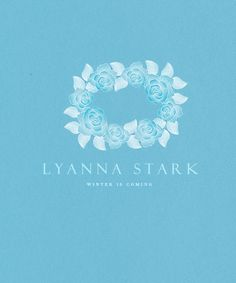 The Late Lyanna Stark (A Game of Thrones, Robert Baratheon's fiancee, Eddard Stark's sister) - personal sigil.
