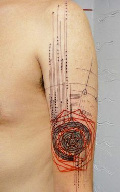 Abstract Tattoo by Xoil Tattoo