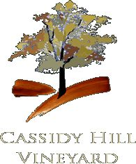 """Cassidy Hill Vineyard Coventry, CT    Visit the tasting room in the log cabin winery, then stroll through the vineyard or enjoy a glass of wine on the porch. Just a short walk past the vines is the solitary maple tree that inspired our logo. From the rocking chairs on the porch or the bench under the """"Thinking Tree"""" you can relax and take in the beautiful vistas."""