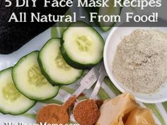 Five+DIY+Face+Mask+Recipes+from+food+365x274+5+Natural+Face+Mask+Recipes
